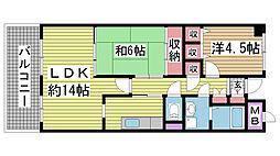新神戸ネクステージ[4階]の間取り