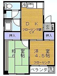 志木家具センタービル[6階]の間取り