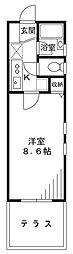 世田谷DSハイム[1階]の間取り
