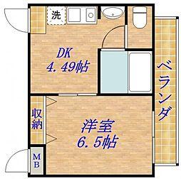 ETC大宮II[3階]の間取り