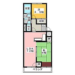 国府台レジデン[2階]の間取り