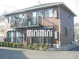 静岡県藤枝市築地の賃貸アパートの外観