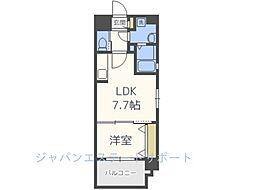 仮)高砂2丁目新築マンション[7階]の間取り