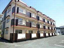 静岡県浜松市中区上島6丁目の賃貸マンションの外観