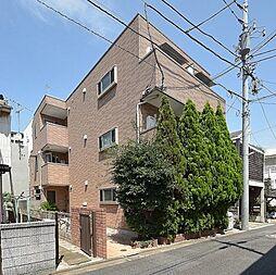 東京都目黒区東山3丁目の賃貸アパートの外観
