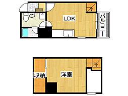 SONIX2015[4階]の間取り