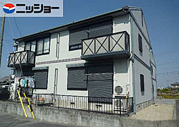 デンパ−クヒルズB[2階]の外観
