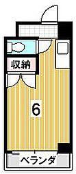 ウイング佐藤[310号室]の間取り