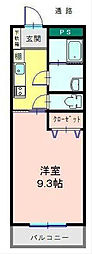 ローレル南越谷[3階]の間取り