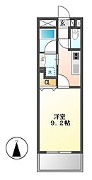 CHIKUSA AVANT-GARDE PLEACE[12階]の間取り