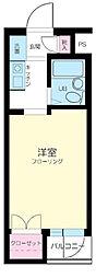 スカイコート西新宿第2[304号室]の間取り