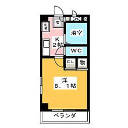 アド・イン[3階]の間取り