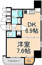 KDXレジデンス元浅草[10階]の間取り