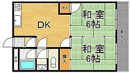 レジデンス平塚[2階]の間取り