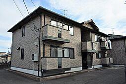 宮城県仙台市若林区上飯田3丁目の賃貸アパートの外観