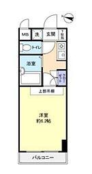 ラ・コート・ドール津田沼[4階]の間取り