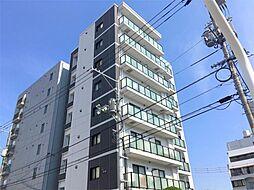 岡山県岡山市北区春日町の賃貸マンションの外観