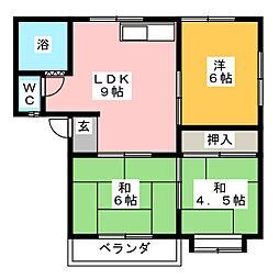メゾン稲垣[2階]の間取り