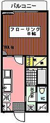 パークプラザ2[4階]の間取り