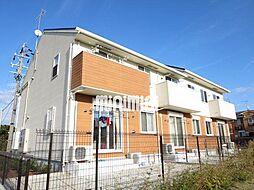 静岡県焼津市高新田の賃貸アパートの外観