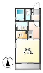 Brezza Nakamurakoen[2階]の間取り