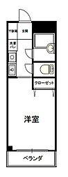 ナカジママンション[2階]の間取り