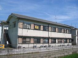 奈良県生駒郡安堵町大字東安堵の賃貸アパートの外観