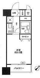 ライオンズマンション関内第3[705号室]の間取り