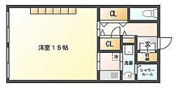 山王ビル[3階]の間取り