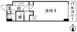 エイトバレー鈴が台[4階]の間取り