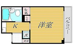OLIO南阿佐ヶ谷[8階]の間取り