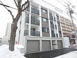 北海道札幌市中央区南十六条西9丁目の賃貸マンションの外観