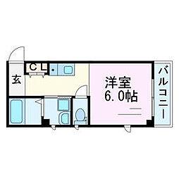 T-STUDIO[2階]の間取り