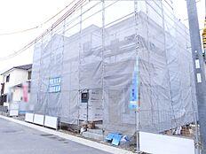 真菅北小学校まで徒歩7分。お子様の通学は安心な距離ですね(2018年1月初旬撮影)