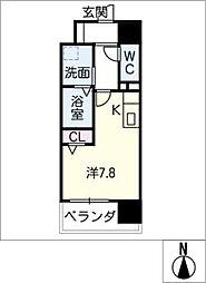Atrio鶴舞[11階]の間取り