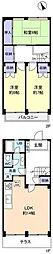 [テラスハウス] 千葉県船橋市芝山5丁目 の賃貸【/】の間取り