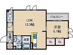 クレッシェンド3[1階]の間取り