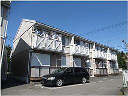 静岡県御殿場市中山の賃貸アパートの外観