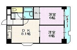 グラン・ピア中野[5階]の間取り