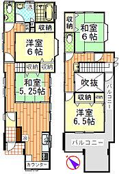 [一戸建] 千葉県千葉市中央区春日1丁目 の賃貸【/】の間取り