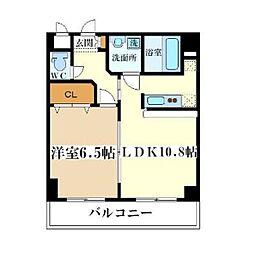 エナブル塚本II[2階]の間取り