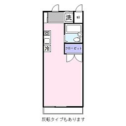 コーナーポケット[1階]の間取り