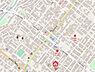 地図,ワンルーム,面積19.44m2,賃料2.2万円,札幌市営東西線 琴似駅 徒歩3分,JR函館本線 琴似駅 徒歩17分,北海道札幌市西区二十四軒四条6丁目