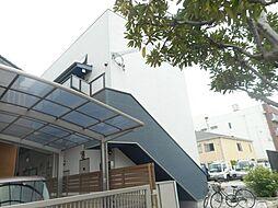 大阪府堺市西区浜寺船尾町東1丁の賃貸アパートの外観
