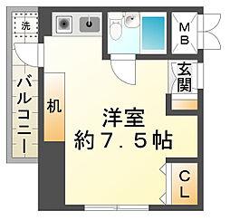 ロゼメゾン須磨[6階]の間取り