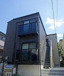 千葉県松戸市新松戸1丁目の賃貸アパートの外観