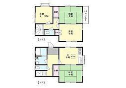[テラスハウス] 神奈川県川崎市多摩区生田4丁目 の賃貸【/】の間取り