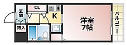 メゾン・ド・六甲パートⅢ[1階]の間取り