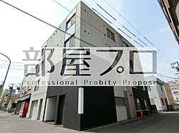 北海道札幌市中央区北二条東9丁目の賃貸マンションの外観