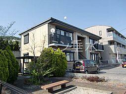 兵庫県加東市下滝野2丁目の賃貸アパートの外観